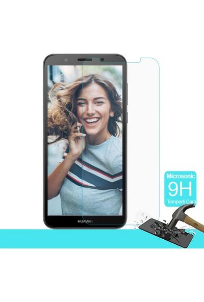 Microsonic Huawei Y5 2018 Temperli Cam Ekran Koruyucu Film