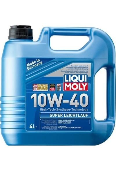 Liqui Moly Super Leichtlauf 10W40 Motor Yağı 4Lt %100 Sentetik (Üretim yılı:2019) 9504