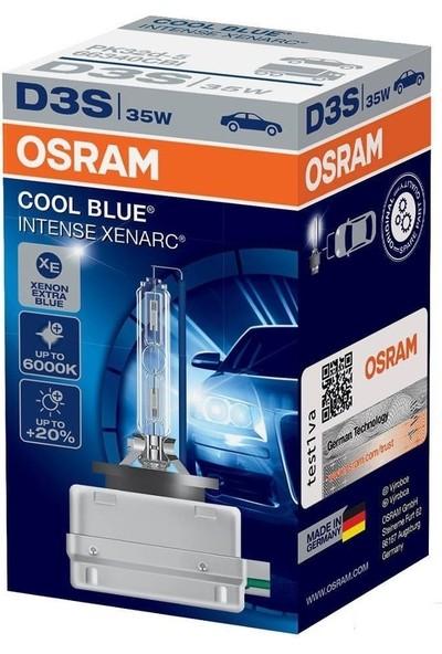 Osram D3S Xeranc Cool Blue Intense Xenon Ampül Bembeyaz 12V 35W 6000K