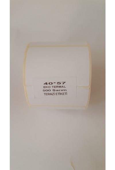 Özsaraç Etiket Terazi Etiketi Eko Termal 40X57