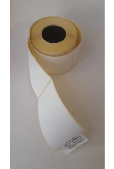 Özsaraç Etiket Terazi Etiketi Eko Termal 57X90