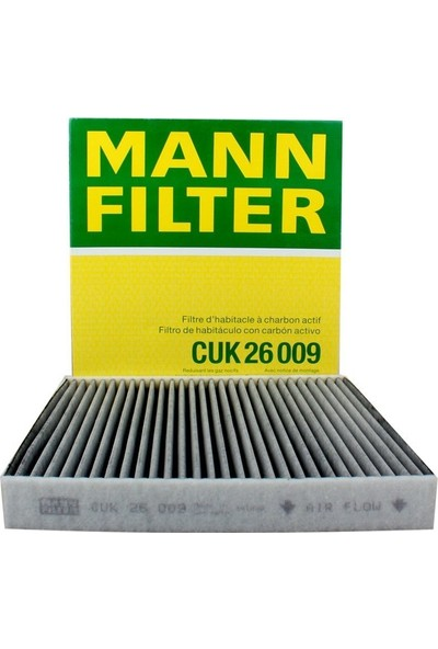 Mann Filtre Mann Golf 7, Leon 1.2, 1.4 Tsi 2013-2017 Karbonlu Polen Filtresi