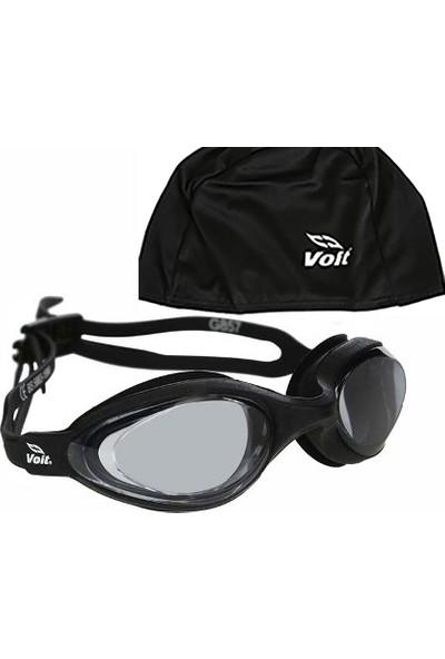 Voit Spear Yüzücü Gözlüğü_Siyah+ Voit Bone