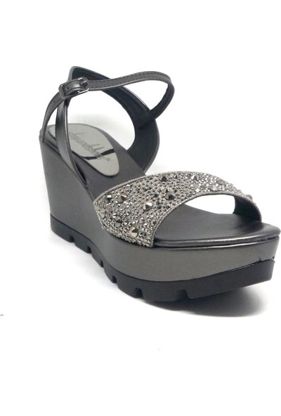 Shop And Shoes 127-061 Kadın Ayakkabı Platin