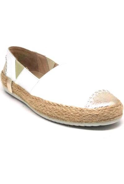 Shop And Shoes 214-5702 Kadın Ayakkabı Beyaz