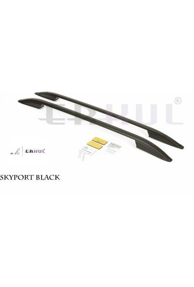 Erkul Citroen Jummpy Long 2006-2017 Tavan Çıtası Skyport Siyah