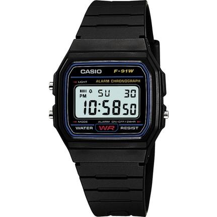 Casio F 91W 1DG Digital Erkek Kol Saati