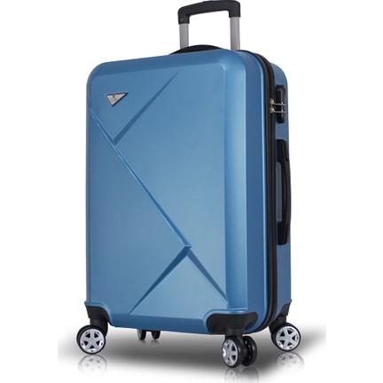 044a33c025f33 My Valice Diamond Abs Orta Boy Valiz Mavi Fiyatı