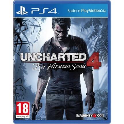 Uncharted 4 Bir Hırsızın Sonu Türkçe Dublaj Ps4 Oyun Fiyatı