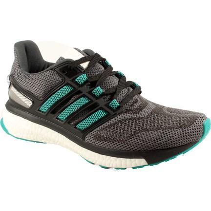 official photos ef153 714fa Adidas Energy Boost 3 W Gri Yeşil Kadın Koşu Ayakkabısı