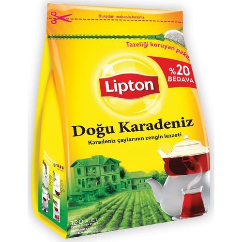 Lipton Doğu Karadeniz Demlik Poşet Çay 120'li