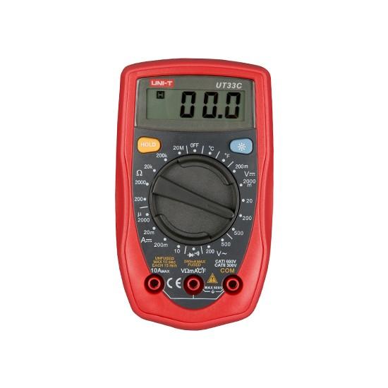 Unı-T Ut 33C Dijital Multimetre Ut33C