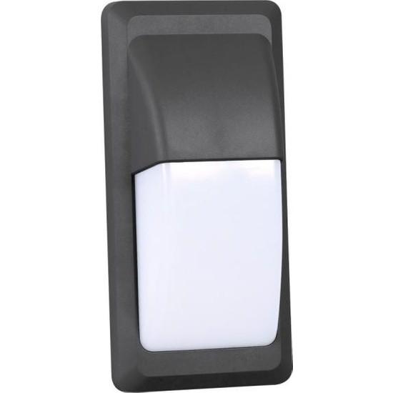 Cata 12W Led Duvar Aplik Siyah Ip65 Günışığı 3200K Ct-7057G