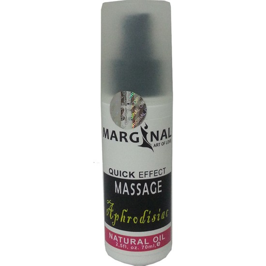 Marginal 70 ml Natural Vücut Masaj Yağı