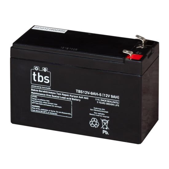 TBS 12V-9AH-5 UPS Tip Akü (TSK1455)