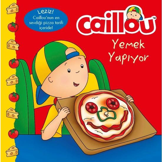 Caillou Yemek Yapıyor