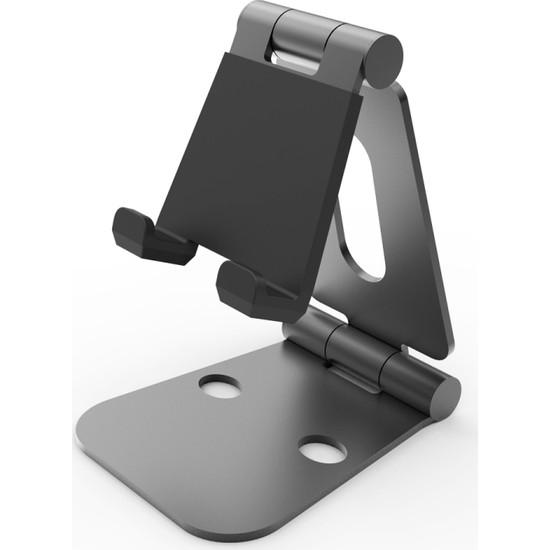 iDock T28 Alüminyum Ergonomik Ayarlanabilir Tablet ve Telefon Tutucu Stand