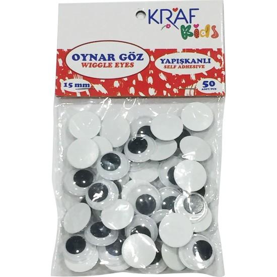 Kraf Kids Oynar Göz 15 Mm 50 Li Kk60