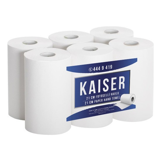 Kaiser 21 cm Fotoselli Havlu 6 Rulo