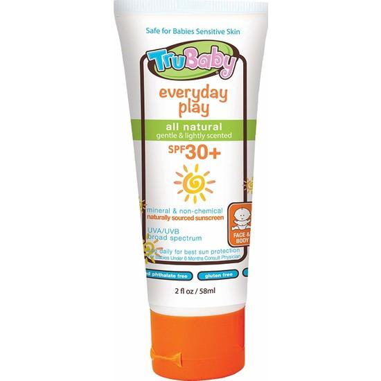 Trukid Trubaby Everyday Play Spf 30+ Faktör Bebekler İçin Mineral Güneş Koruyucu Krem Losyon 58 ml