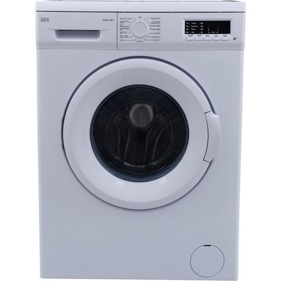 SEG SCM 7100 T A+ 7 kg 1000 Devir Çamaşır Makinesi