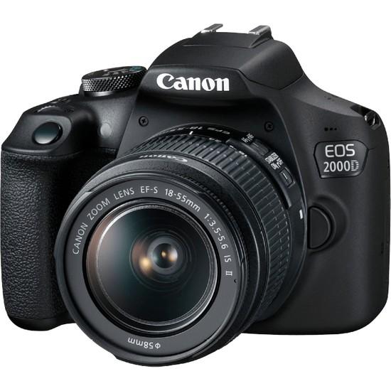 Canon EOS 2000D 18-55 IS SLR Fotoğraf Makinesi