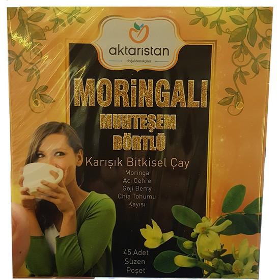 Aktaristan Moringalı Muhteşem 4'lü Form Çayı