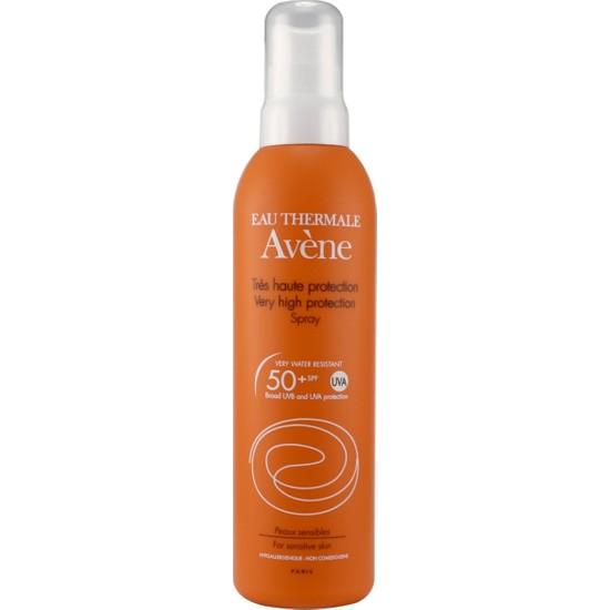 Avene Spf 50 Faktör 200 ml Tüm Cilt Tipleri için Sprey Güneş Kremi