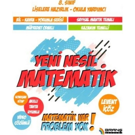 Branş Akademi 8. Sınıf Yeni Nesil Matematik - Levent İçöz