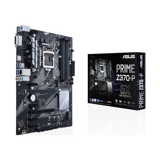 Asus Prime Z370-P Intel Z370 2133MHz DDR4 LGA1151 USB 3.0 ATX Anakart