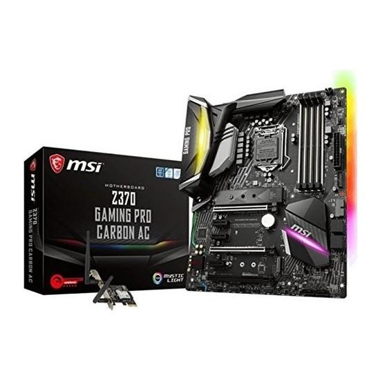 MSI Z370 Gaming PRO CARBON ACIntel Z370 4000mhz(OC) DDR4 Soket1151 USB3.1 ATX Wifi Anakart