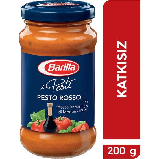 Barilla Domatesli Ve Fesleğenli/Pesto Rosso Makarna Sosu 200 Gr