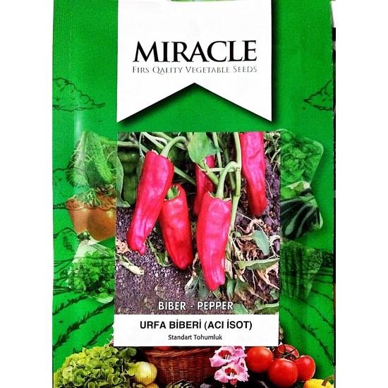 Miracle Tohum Miracle Urfa İsot Acı Biber Tohumu (10 gram)