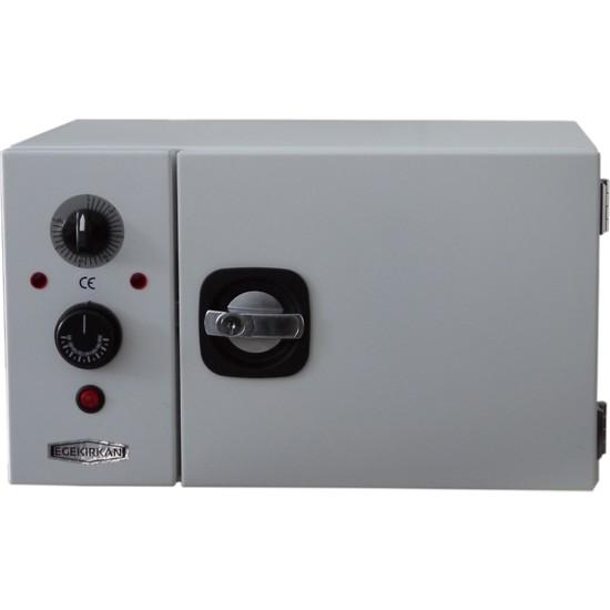 Egekırkan 10 Lt Kuru Hava Sterilizatörü Isıtmalı Sterilize Makinesi