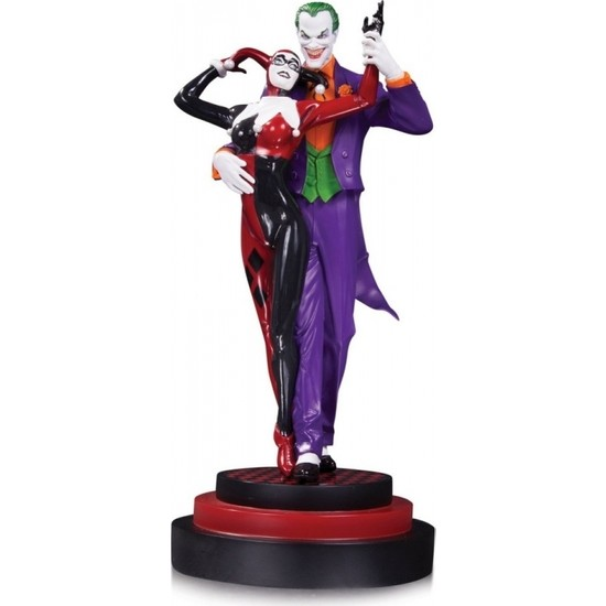 DC Collectibles Batman: Harley Quinn: The Joker & Harley Quinn Second Edition Statue