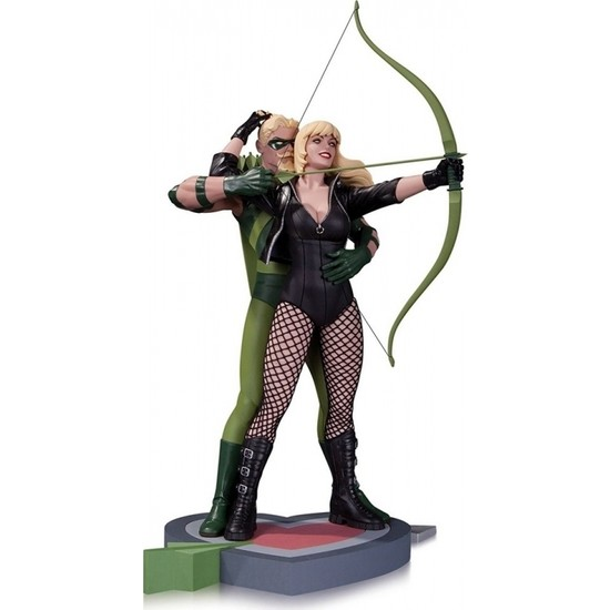 DC Collectibles Green Arrow & Black Canary Statue