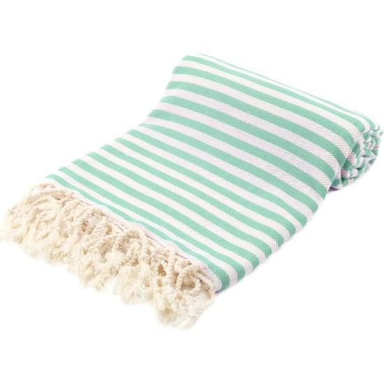 Fringe Towels Çizgili Peştemal Mint