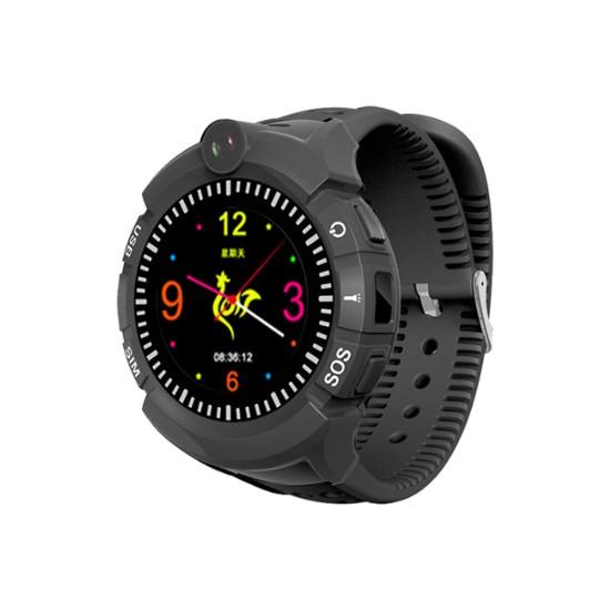Sentar V80-ES02 GPS Özellikli Akıllı Çocuk Saati - Siyah