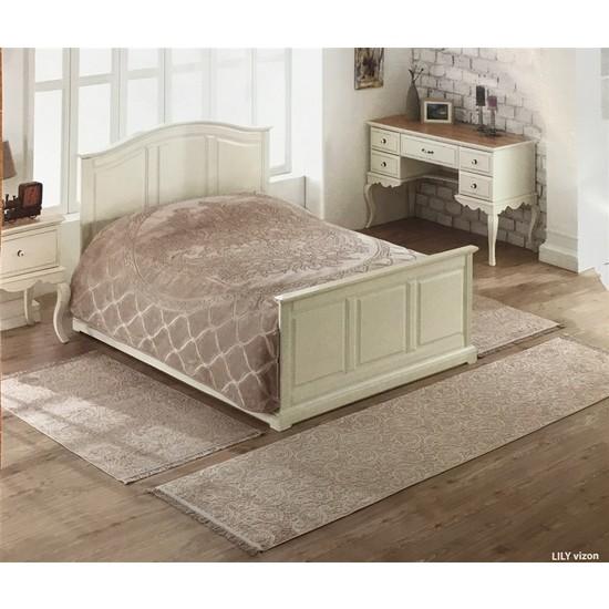 Soley 3`Lü Yatak Odası Halı Seti Lily Vizon