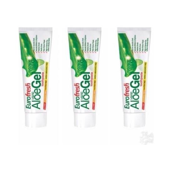 Farmasi Eurofresh Aloe Veralı Diş Macunu +3 Adet