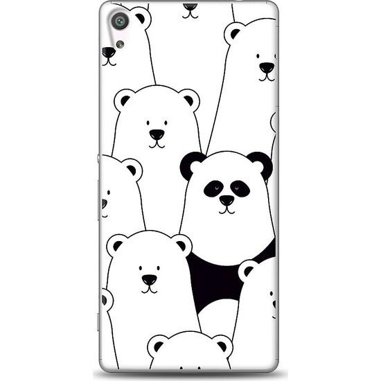 Eiroo Sony Xperia XA Ultra Lonely Panda Baskılı Tasarım Kılıf