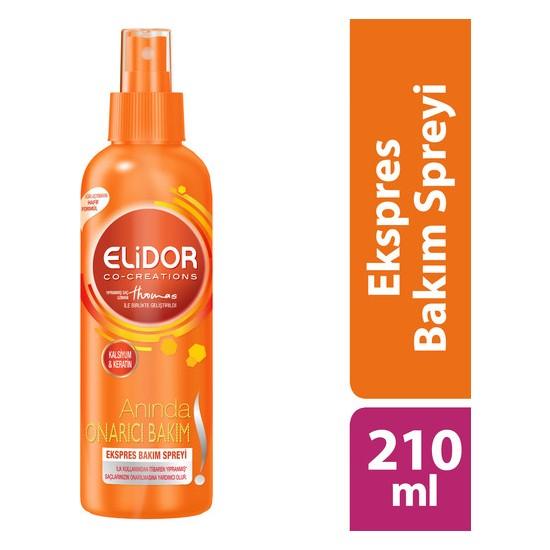 Elidor Anında Onarıcı Bakım Ekspres Saç Bakım Spreyi 210 ml