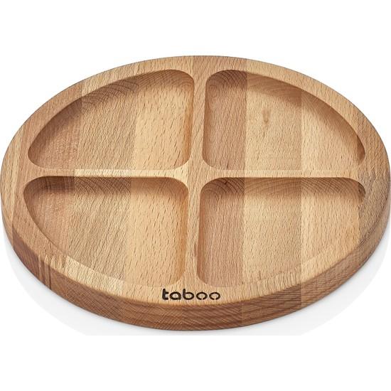 Sinbo Taboo 4. Gözlü Yuvarlak Çerezlik Ve Sunum