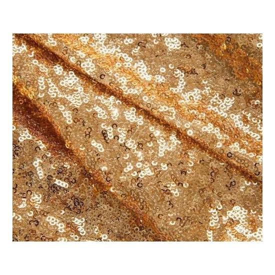 Brode Payet Kumaş 1 Metre Gold Altın Pullu Payet Kumaş En 140 cm