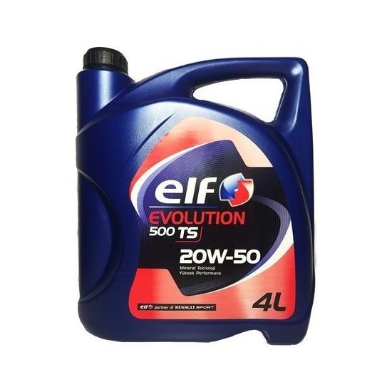 Elf 20W50 Benzin - Lpg Motor Yağı 4 Litre