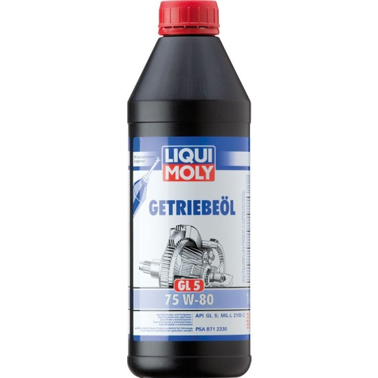 Liqui Moly Gl5 75W80 Şanzıman Yağı 1 Litre 3658