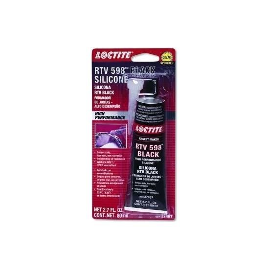 Loctite 598 Rtv Isıya Dayanıklı Süper Siyah Sıvı Conta 80Ml Ford Onaylı