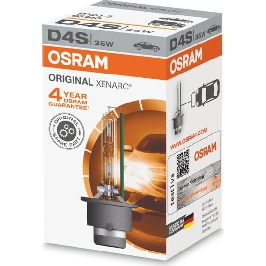 Osram D4S Xeranc Standart Xenon Ampül 12V 35W 4300K