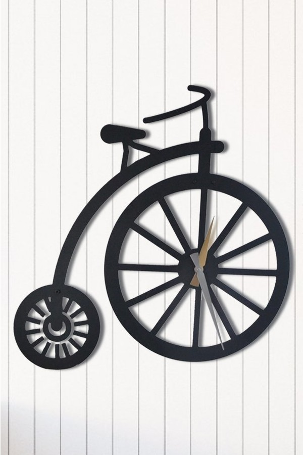 Angemiel Home Cycling Home And Office Decoration Metal Wall Clock