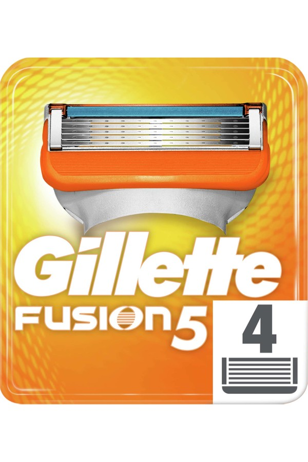 Gillette Fusion Replacement  Razor Blades 4 pieces